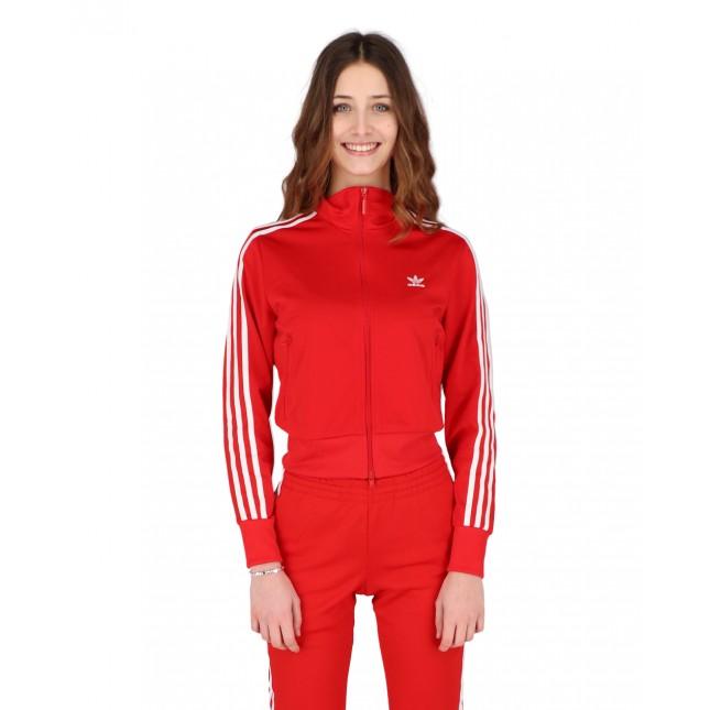 Adidas Giacca Donna Rossa Firebird Tracktop Primeblue Scarlet