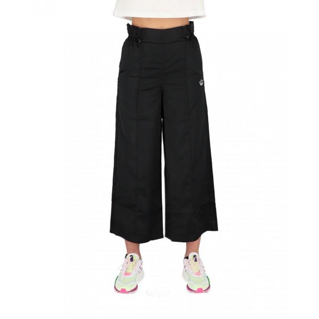 Adidas Pantaloni Donna Neri 7/8 Trackpants Black