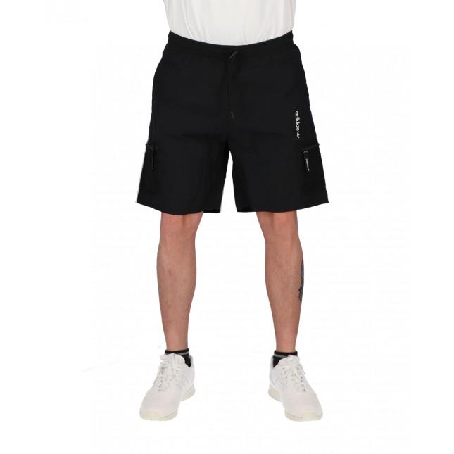 Adidas Pantaloncini Uomo Neri ADV Woven Shorts Black