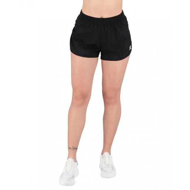 Adidas Pantaloncini Donna Neri 3 Stripes Shorts Black