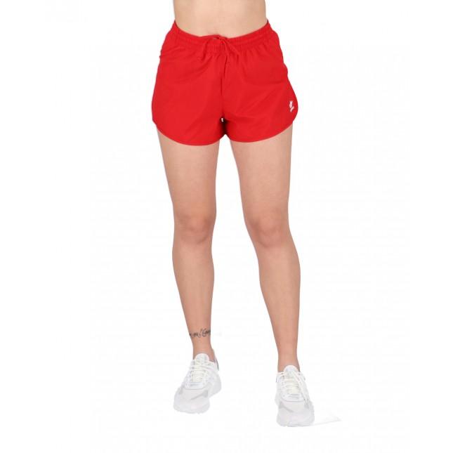 Adidas Pantaloncini Donna Rossi 3 Stripes Shorts Scarlet