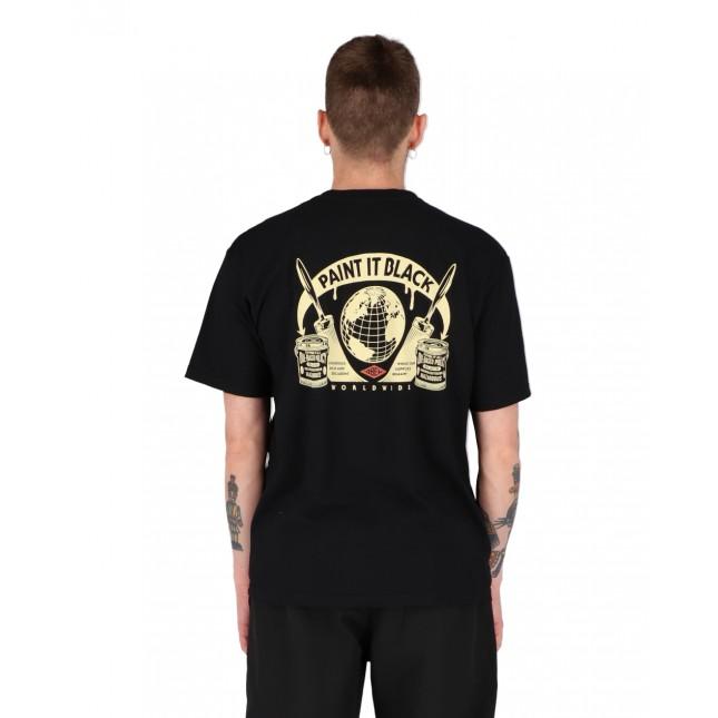 Obey T-Shirt Uomo Nera Paint It Black Organic Superior Tee Black