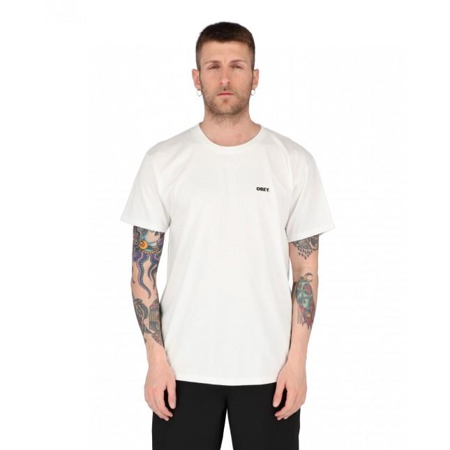Obey T-Shirt Uomo Bianca Bold 2 Tee White