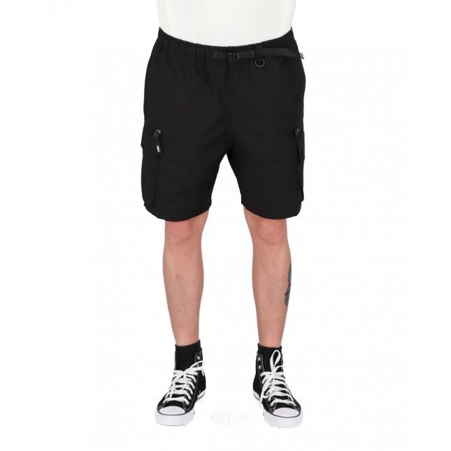 Obey Pantaloncini Uomo Neri Warfield Trek Shorts Black