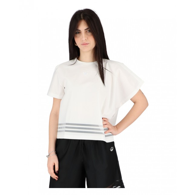 Adidas T-Shirt Donna Bianca Tee White
