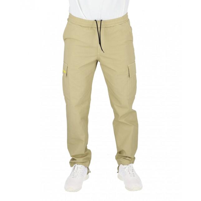 Iuter Pantaloni Uomo Beige Cargo Pant Beige