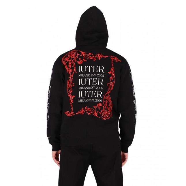 Iuter Type Hoodie Black