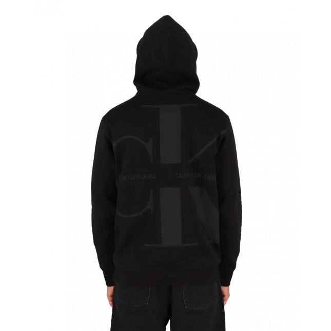 Calvin Klein Jeans Bold Monogram Hoodie CK Black