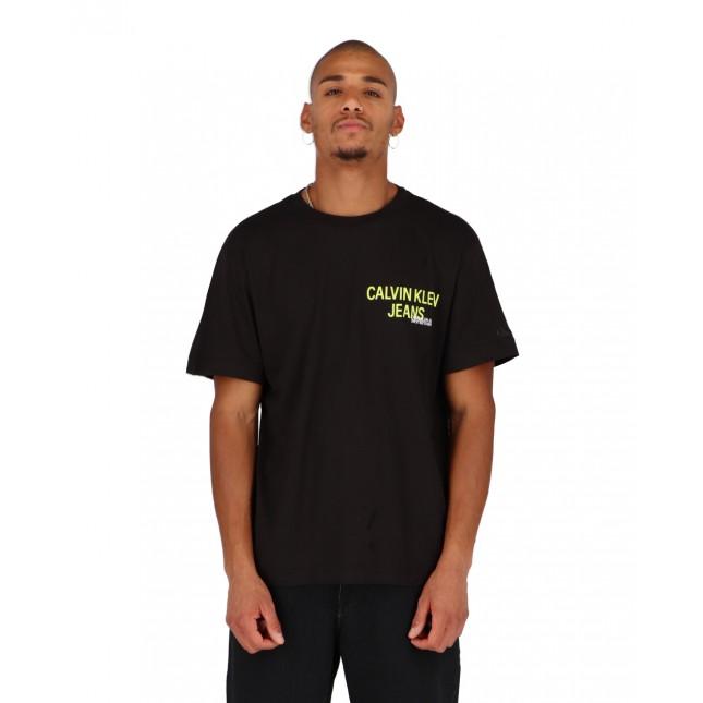 Calvin Klein Jeans Urban Back Graphic Logo Tee CK Black