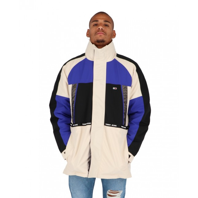 Tommy Jeans 4 in 1 Jacket Smooth Stone / Multi