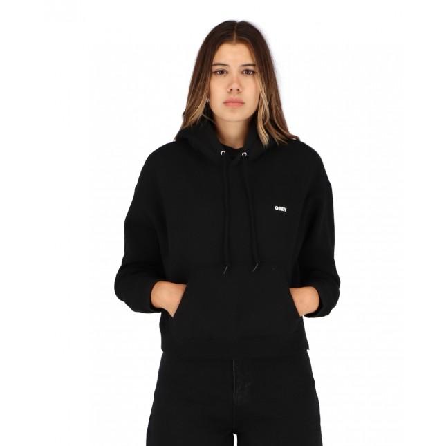 Obey Bold Hood Speciality Fleece Black
