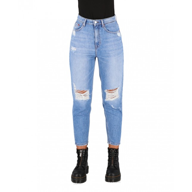 Tommy Jeans Mom Jean Ultra High Rise Tapered Denim Light