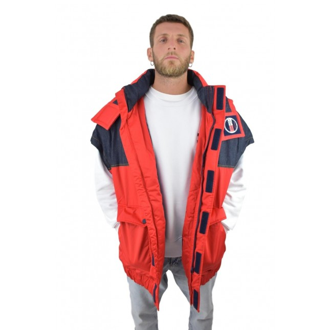 Tommy Jeans Long Hooded Vest