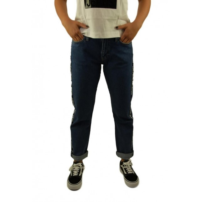 Calvin Klein Mid Rise Boyfriend Jeans