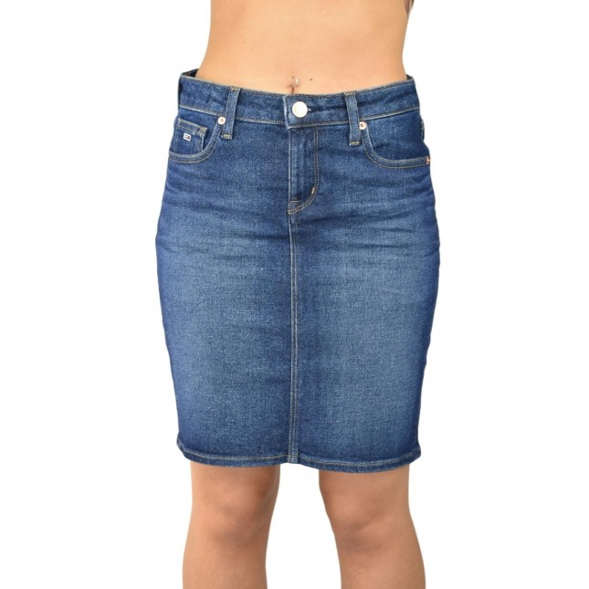 Tommy Jeans Regular Denim Skirt