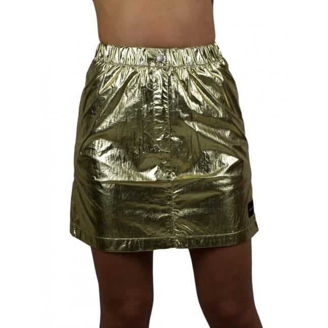 Calvin Klein Gold Mini Skirt