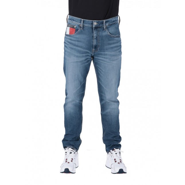 Tommy Jeans Uomo 1988 Relaxed Tapered Clash Mid Blue Com