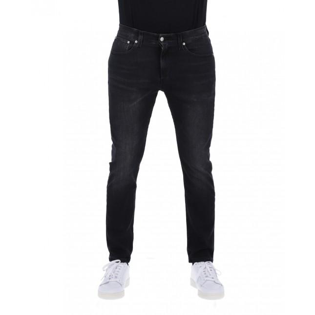 Calvin Klein Jeans Uomo Nero CKJ 016 Skinny Black