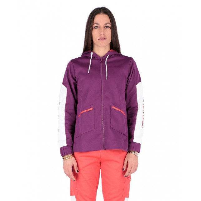Tommy Sport Felpa Donna DWR Fleece Jacket Phlox