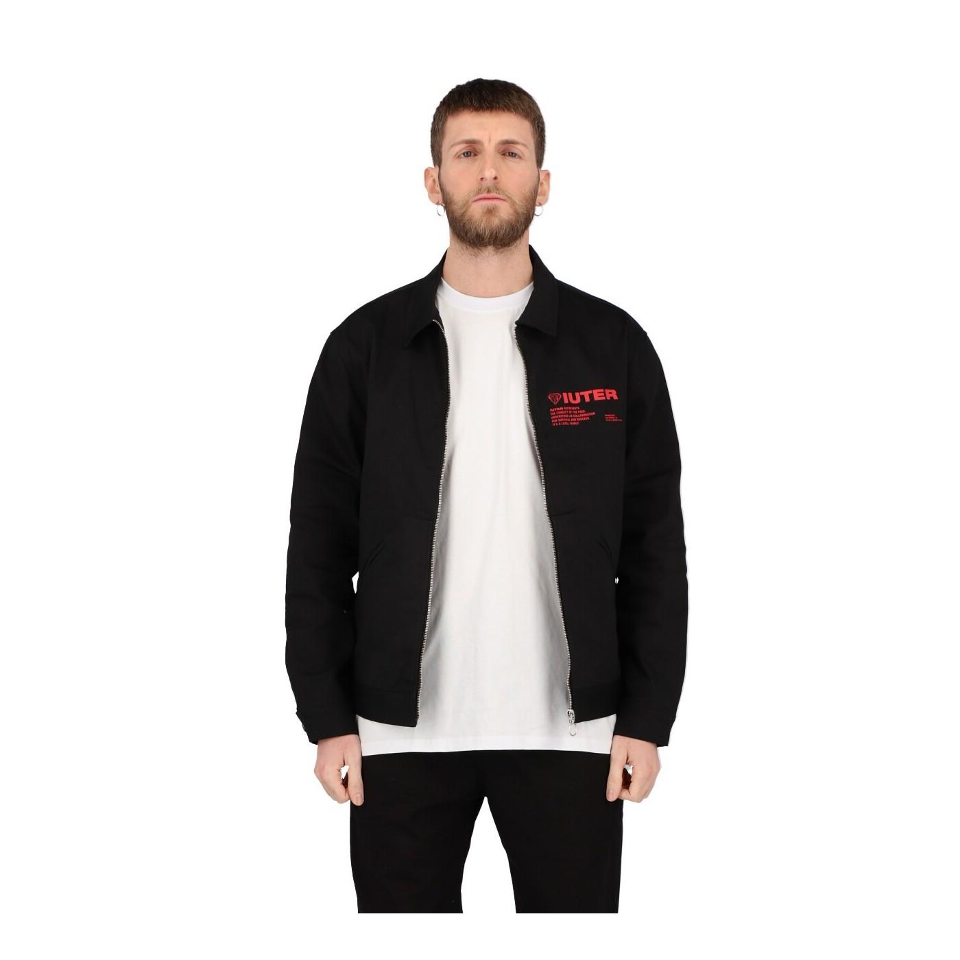Iuter Giacca Uomo Nera Info Redford Jacket Black