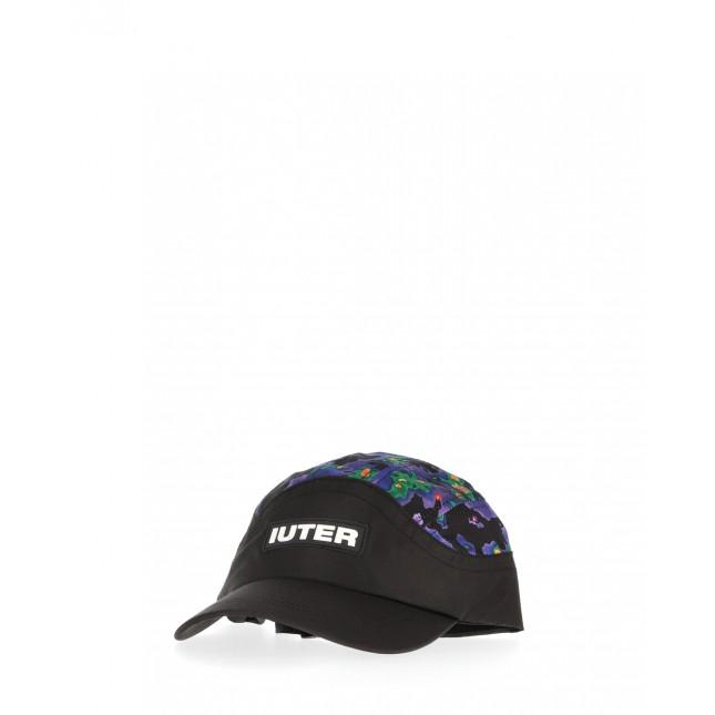 Iuter Cappello Nero Thermal Chaos Sports Hat Black
