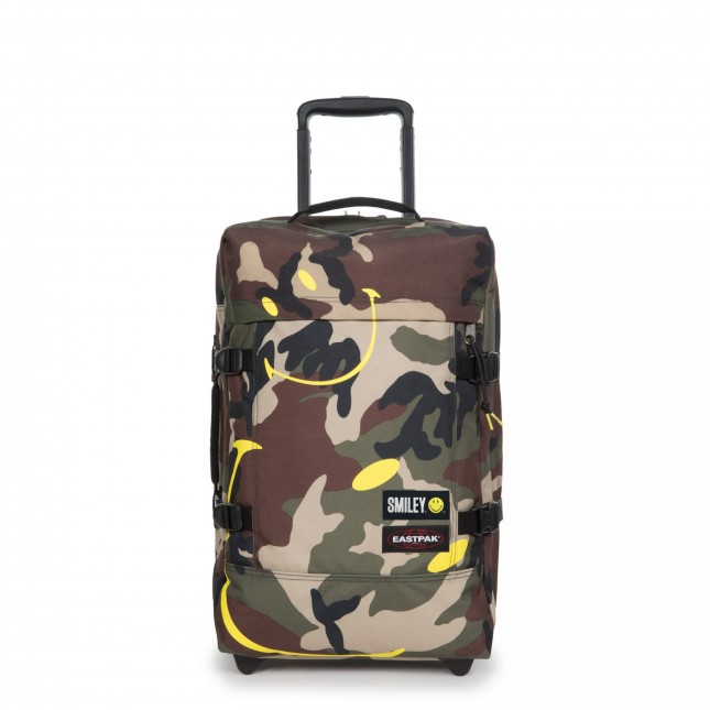Eastpak x Smiley Trolley Tranverz S Smiley Camo