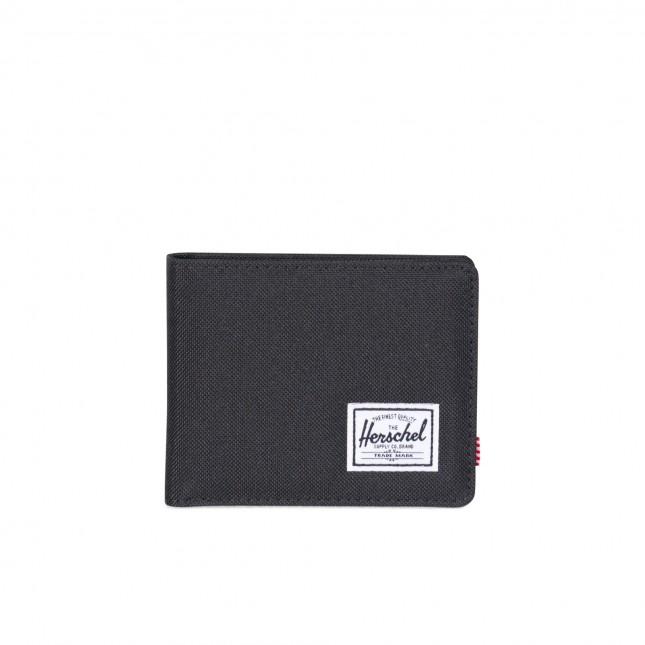 Portafoglio Herschel Roy RFID Black