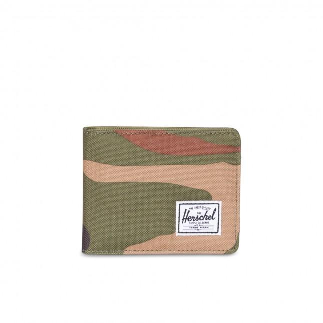 Portafoglio Herschel Roy RFID Woodland Camo