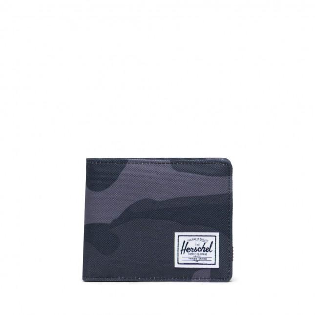 Portafoglio Herschel Roy Coin RFID Night Camo