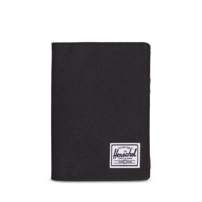 Porta Passaporto Herschel Raynor Passport Holder RFID Black