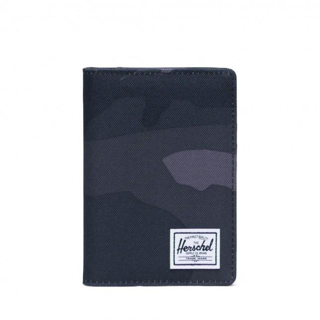 Porta Passaporto Herschel Raynor Passport Holder RFID Night Camo