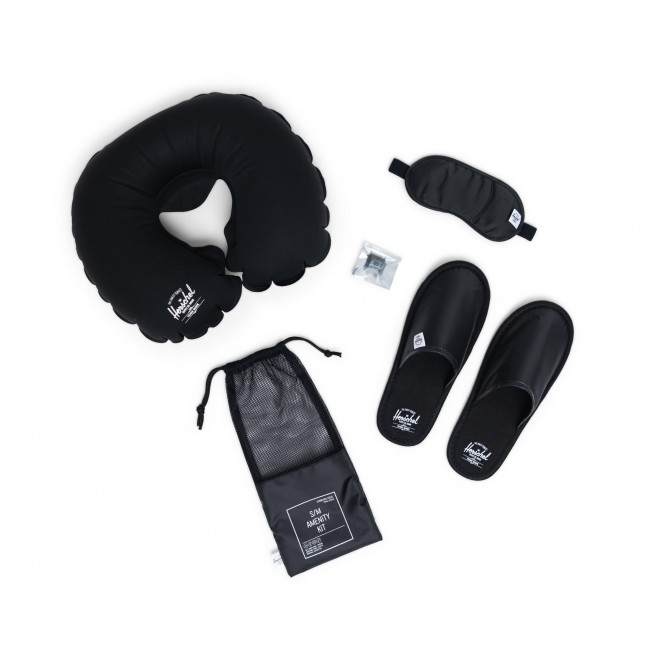 Kit Da Viaggio Herschel Amenity Kit Black