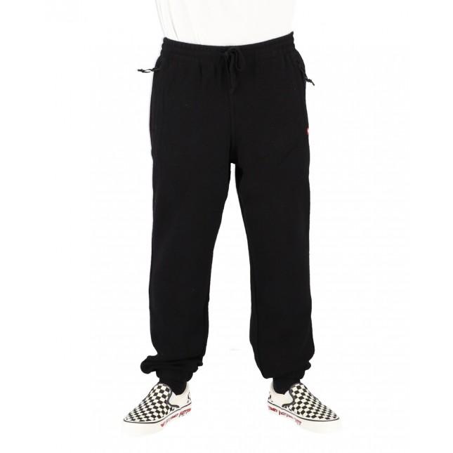 Vans Pantaloni Uomo Neri Fleece Pant Black