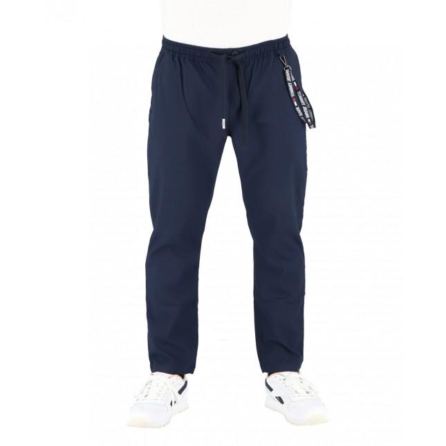 Tommy Jeans Pantaloni Uomo Blu Scanton Solid Trackpants Twilight Navy