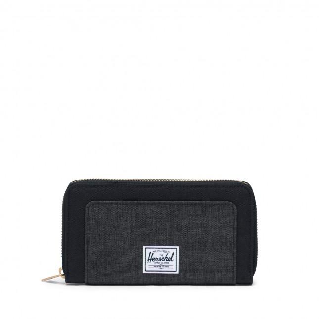 Portafoglio Herschel Thomas RFID Black / Black Crosshatch