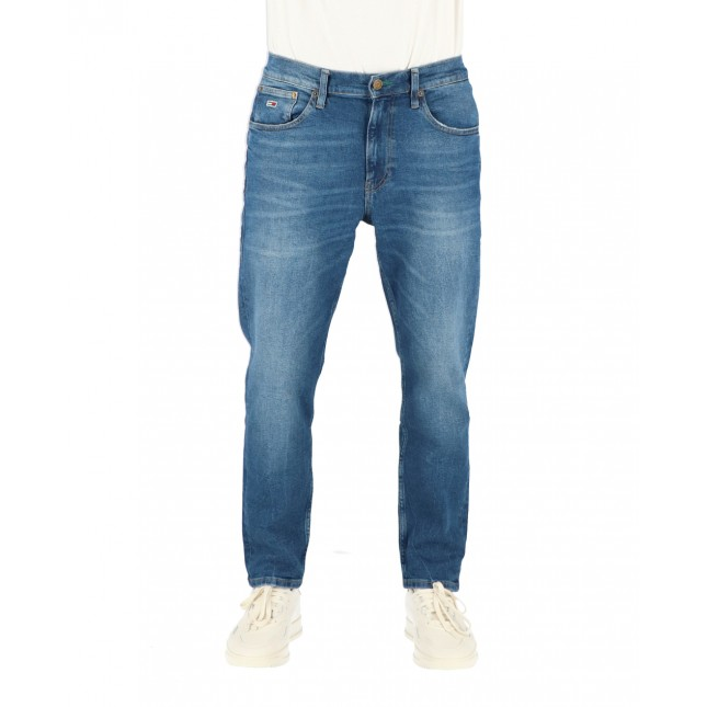 Tommy Jeans Uomo Rey Relaxed Tapered Save PF Bright Blue Comfort