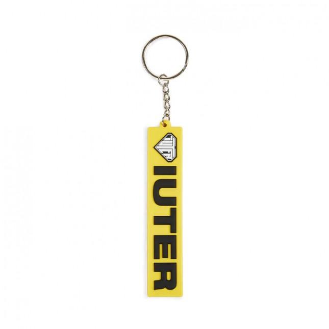 Iuter Portachiavi Giallo Logo Keychain Yellow