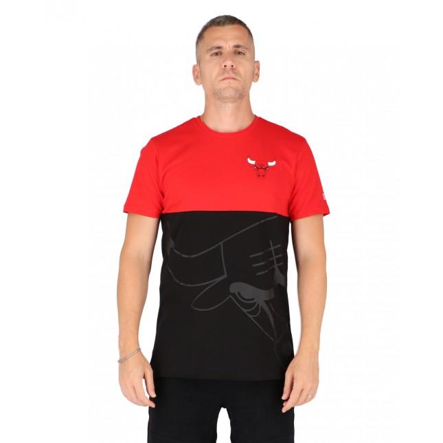 New Era T-Shirt Uomo Large OTL NBA Chicago Bulls