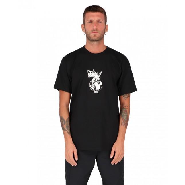 Obey T-Shirt Uomo Nera Cherub Classic Tee Black