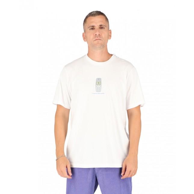 Life Sux T-Shirt Uomo Bianca Connecting Tee White