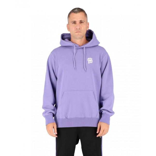 Life Sux Felpa Uomo Lilla Basic Hoodie Purple