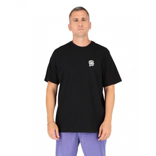 Life Sux T-Shirt Uomo Nera Basic Tee Black