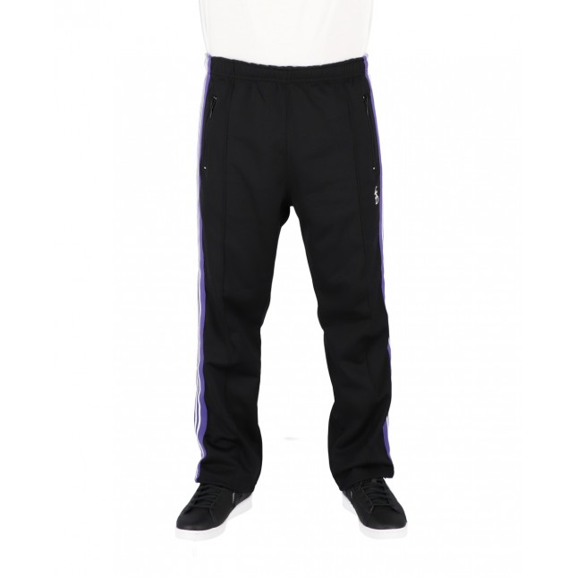 Life Sux Pantaloni Uomo Neri Trackpants Black