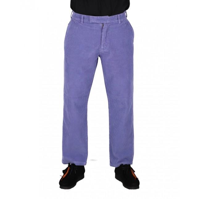 Life Sux Pantaloni Uomo Lilla Corduroy Chino Pants Purple