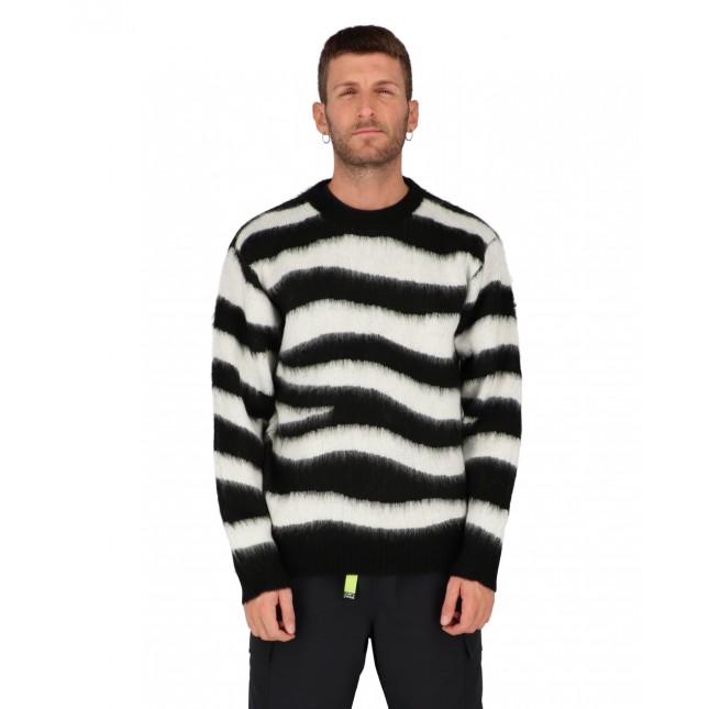 Obey Maglione Uomo Dream Sweater Black Multi