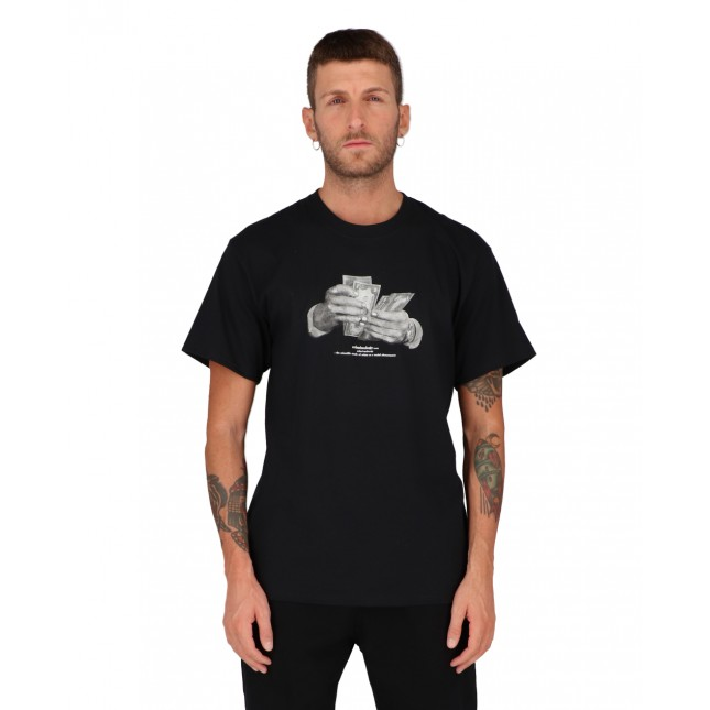 Huf T-Shirt Uomo Nera Criminology S/S Tee Black