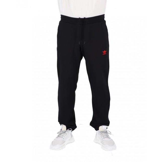 Adidas Pantaloni Uomo Neri Trefoil Pant Black