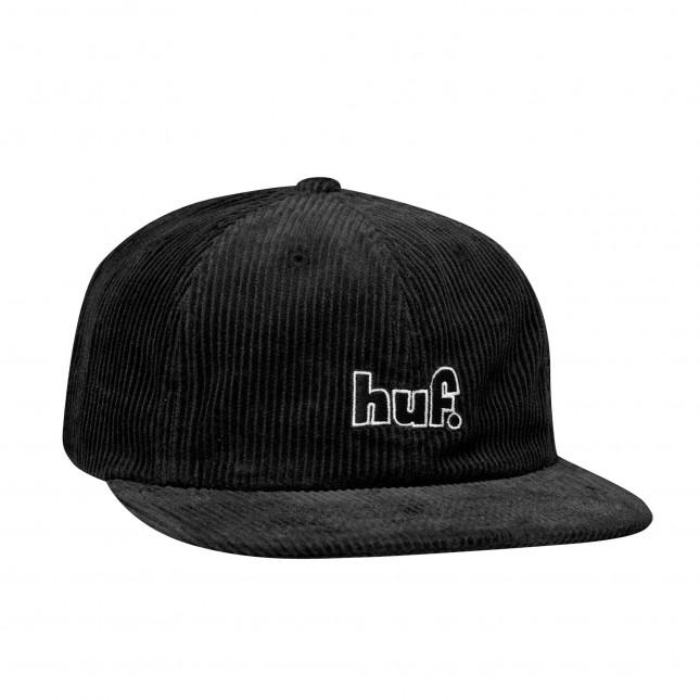 Huf Cappello 1993 Logo 6 Panels Black