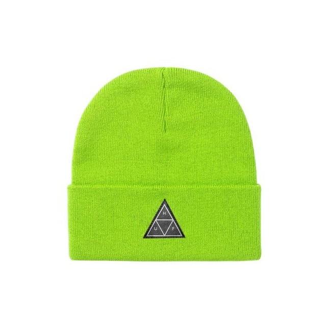 Huf Cappello Essentials Triple Triangle Beanie Bio Lime