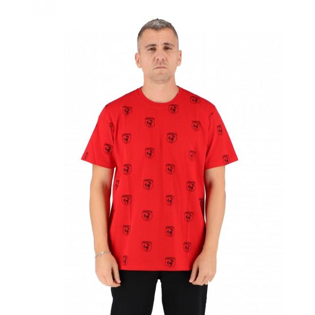 Iuter T-Shirt Uomo Rossa Abarth Scorpio Tee Red